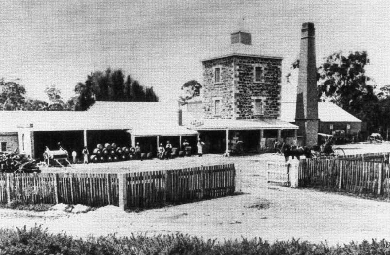 Brewery and Thomas Coopers House c. 1893