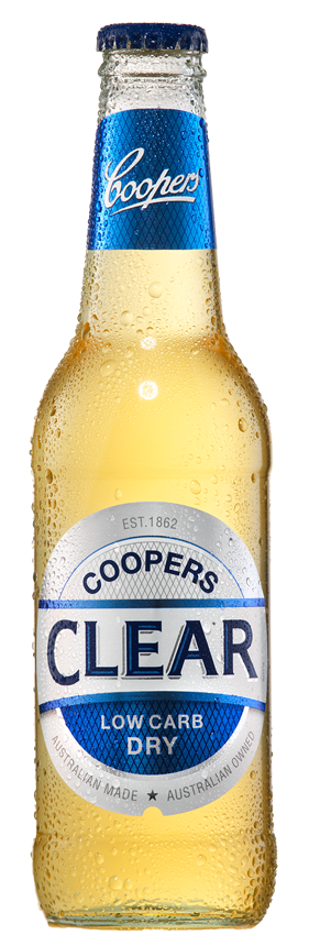 Coopers Clear Bottle