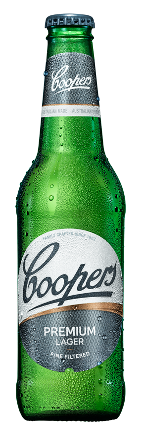 Coopers Premium Lager Bottle