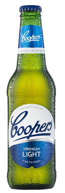 Coopers Premium Light Bottle