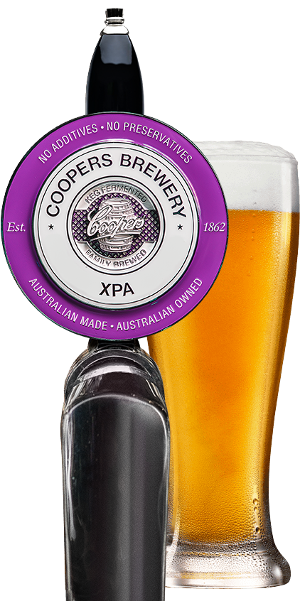 xpa tap and glass